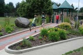 Nature Themed Playground Equipment Grid