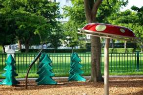 Trees Mushrooms Playground Image Grid