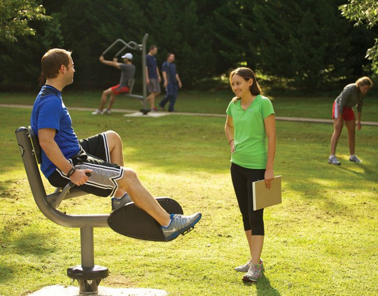 Outdoor Adult Fitness Solutions Index