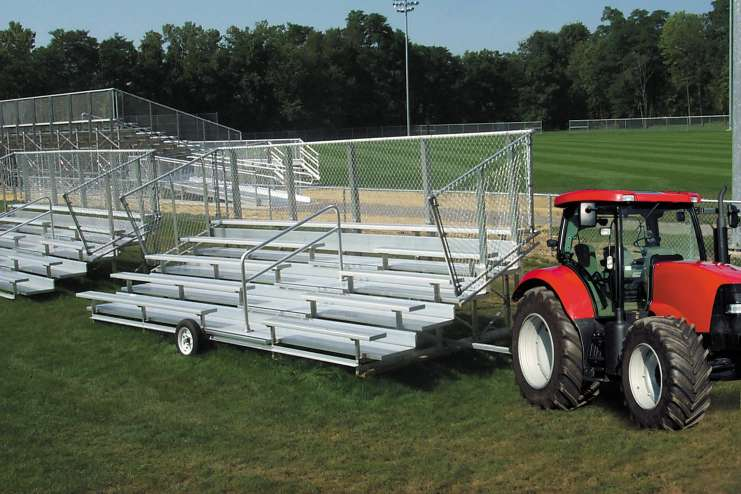 Nrs 5 Row Deluxe W Tractor