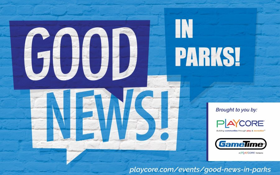 Good News In Parks Banner
