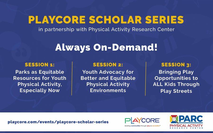 Play Core Scholar Series Banner On Demand