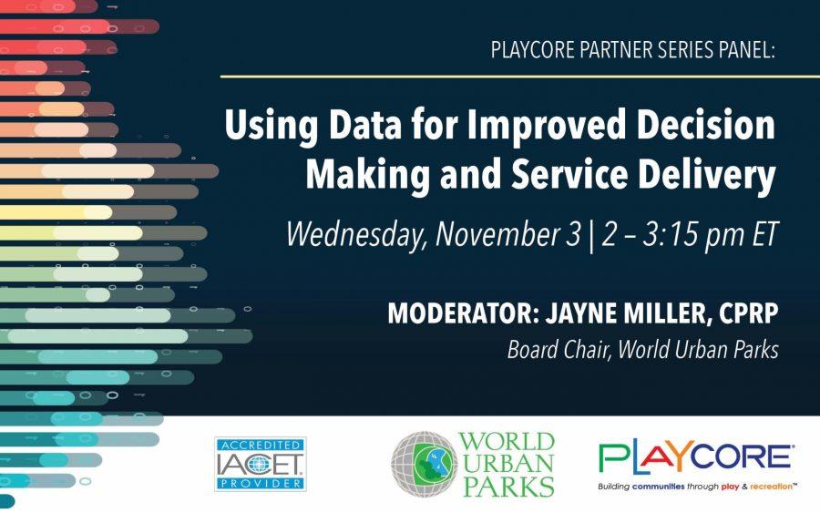 Using Data Live November 2021 Banner Image