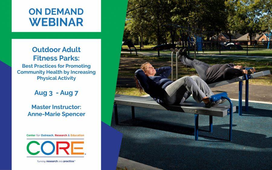 Webinar Banner Templates Outdoor Adult Fitness Parks Od Aug 2020