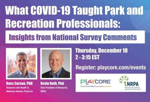 Covid 19 And Parks Webinar Banner Image