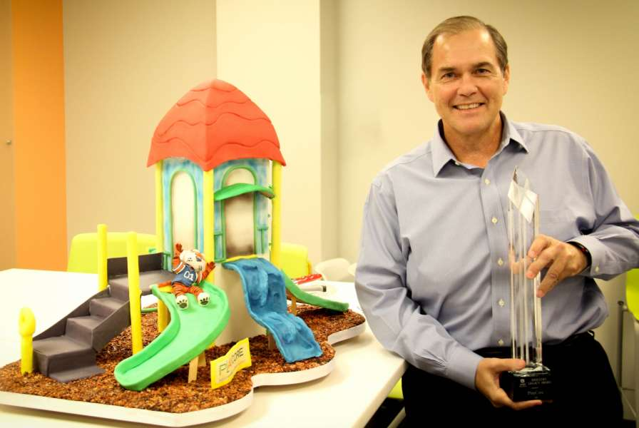 Auburn Award And Cake