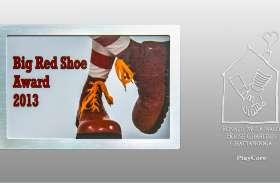 Big Red Shoe Award