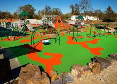 Kades Playground Top View