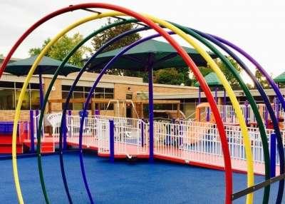 Rainbow Courtyard Playground Amherst Ny Nds