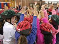Celebrating New Helmets