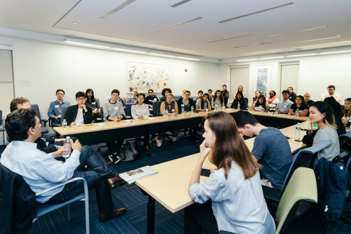 "picture for <h1 style=""text-align: center;"">More than 100 students and alumni joined us for our Mentoring Kickoff on October 24th.<br/><a href=""https://www.facebook.com/media/set/?set=a.1146446668821200.1073742021.307744436024765&type=1&l=cd3ae470bc"" class=""button large"" target=""_blank"">See photos</a> from the event. </h1>"