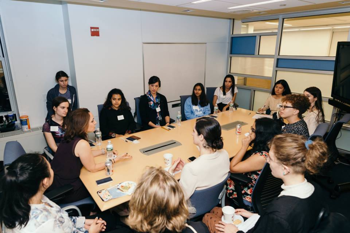 "<h1 style=""text-align: center;""><b>""I really loved my Columbia experience so I've been looking for ways to come back to campus and stay involved after graduating. Mentoring has been a great way to stay connected to the College community."" 