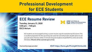 ECE Alumni Resume Review
