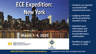 New York Skyline with Expedition title