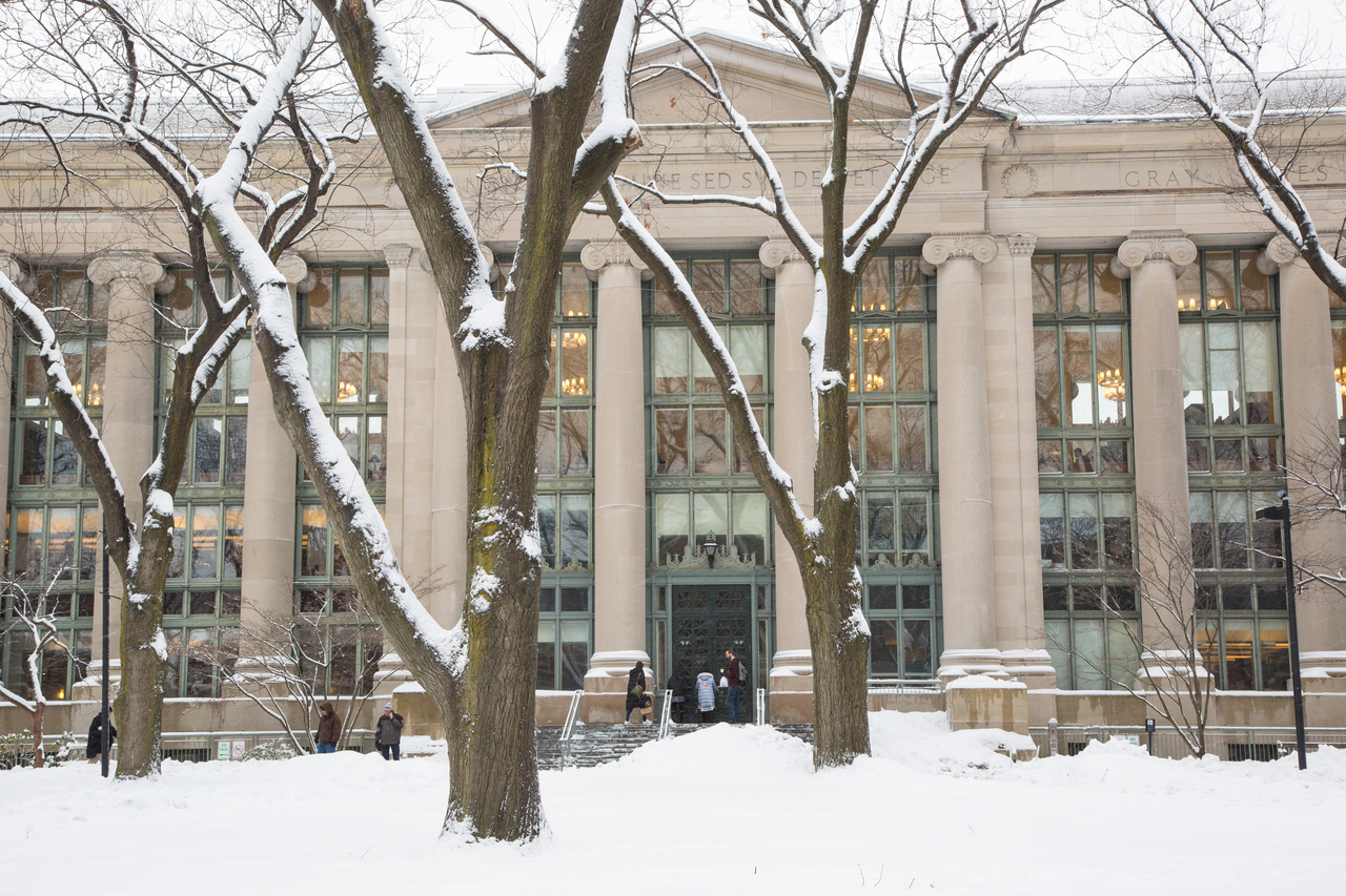 Image of Langdell Hall library