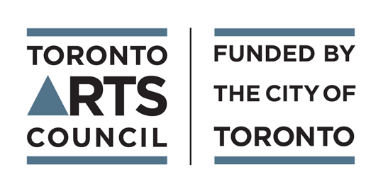 Toronto Arts Council, Funded by the City of Toronto