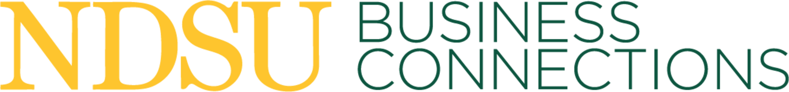 NDSU College of Business - Business Connections logo