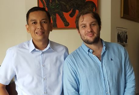Mentorship Experience Enhances Northwestern Network in Indonesia
