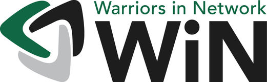 Warriors in Network logo