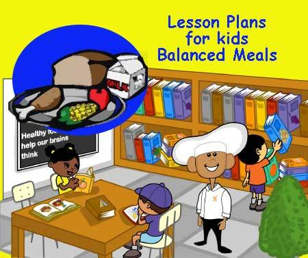 Free Kids Nutrition Printables Color My Plate With