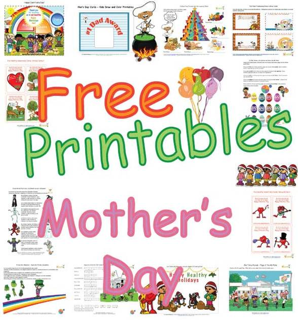 Free Mother S Day Cards Pages Printable Mother S Day Cards For Kids