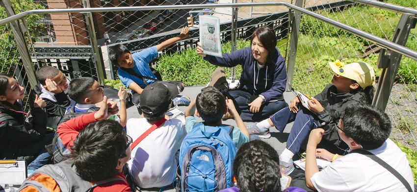Field trips allow students to travel back in time on the high line list image