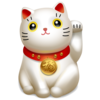 Lucky cat icon 16441