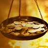 Money scales small