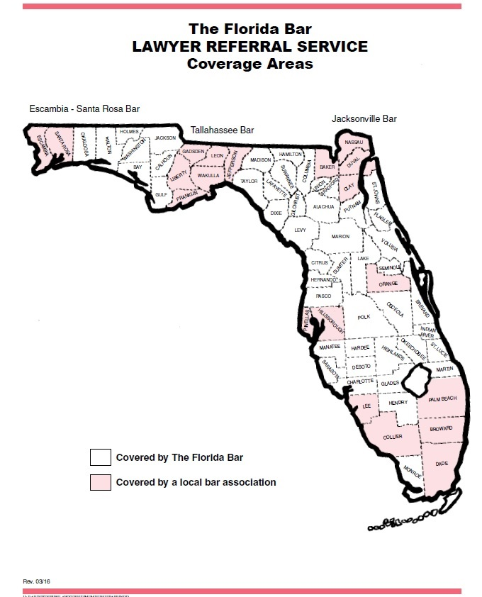 Florida LRS Coverage Map