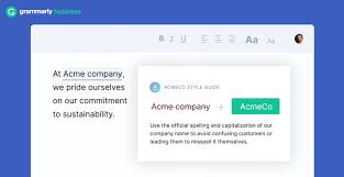 Grammarly Business Screenshot