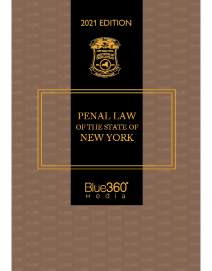 New York Penal Law 2021 Edition - Pre-Order