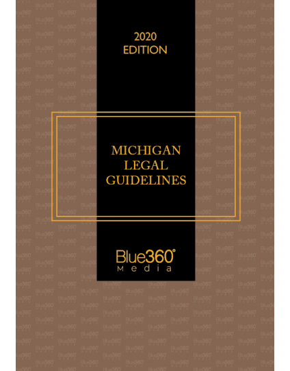 Michigan Legal Guidelines: Law of Arrest, Search & Seizure, and Confession 2020 Edition - Pre-Order