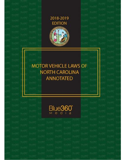 Motor Vehicle Laws of North Carolina Annotated