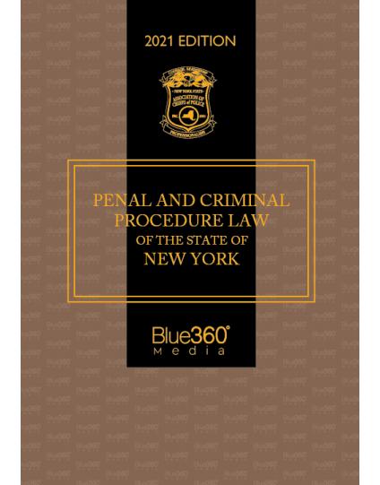 New York Penal Law & Criminal Procedure 2021 Edition - Pre-Order
