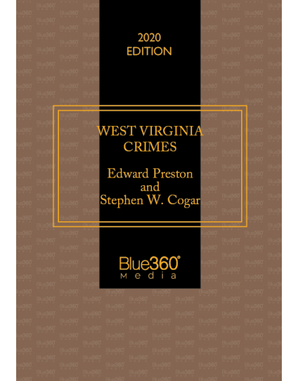 West Virginia Crimes 2020 Edition - Pre-Order