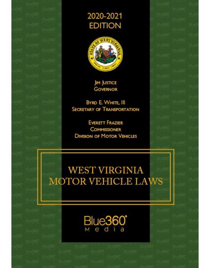 West Virginia Criminal & Traffic Law Manual 2020 Edition - Pre-Order