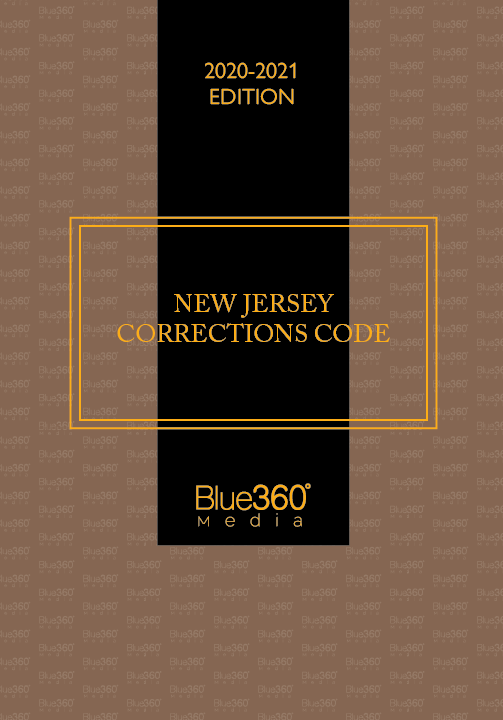 Corrections Code of New Jersey - 2020-2021 Edition - Pre-Order