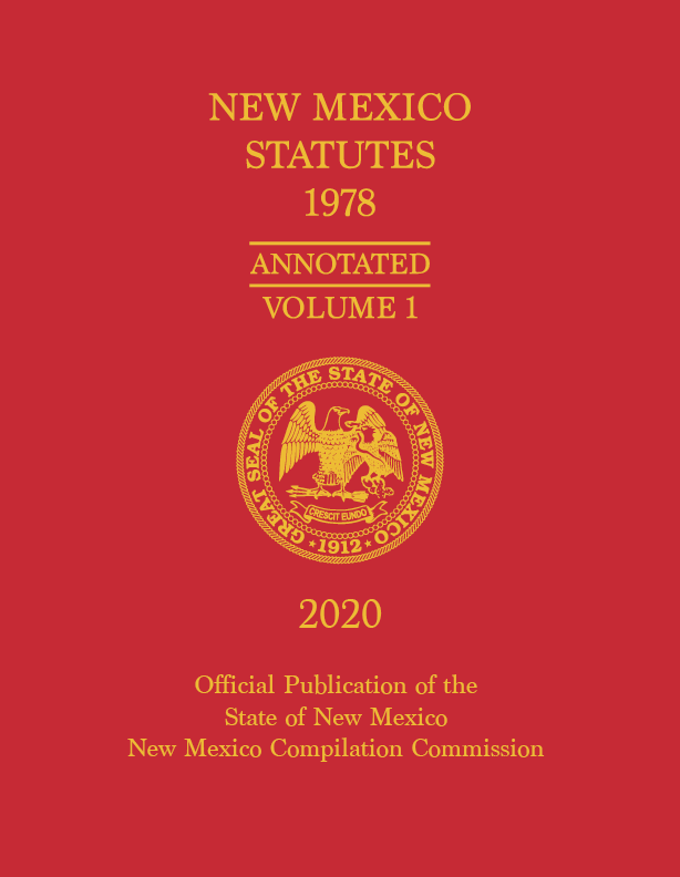 Official 2020 New Mexico Statutes Annotated 1978™ - Full Set - Pre-Order