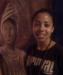 Caption: Veronica Estrada and Little Haiti Mural, Credit: George Fishman