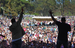 Caption: Lateef the Truthspeaker (left) and Lyrics Born (right) perform Sunday, August 14 at San Francisco's Outside Lands Festival