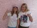 Caption: Liza Richardson and Stephanie Gilmore