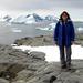 Caption: Debbie Steinberg studies Antarctic zooplankton - the tiny drifting animals of the sea.