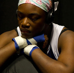 Caption: Claressa Shields, Credit: Sue Jaye Johnson