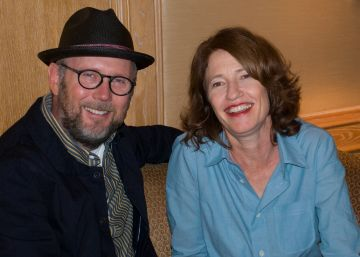 Caption: Jonathan Dayton and Valerie Faris, San Francisco, CA 7/23/12, Credit: Andrea Chase