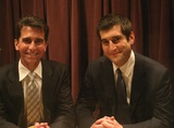 Caption: Mark Leno and David Onek