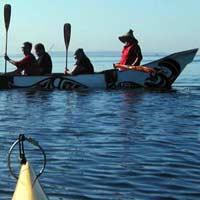 Caption: Canoeing the Tribal Journey