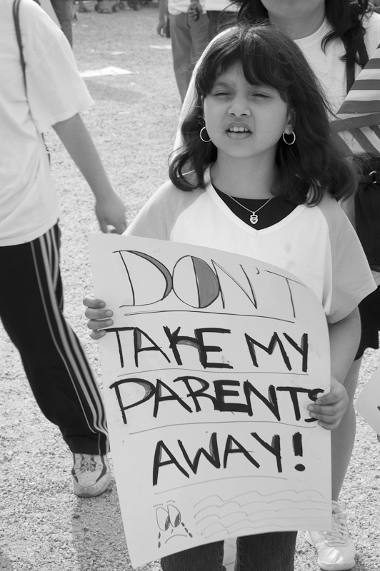Caption: Immigration Reform Rally 2010, Credit: Anuska Sampedro