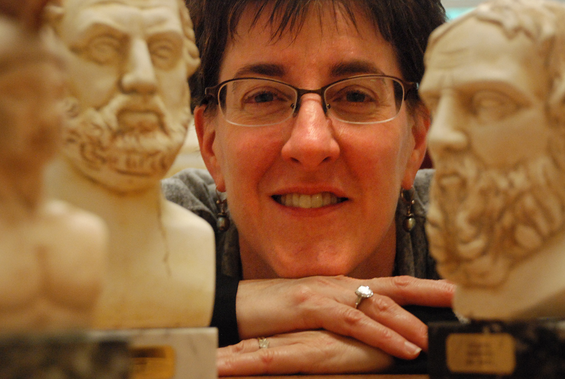 Caption: Ellen Millender, Professor of Classics and Humanities at Reed College in Portland, Oregon, Credit: Michael Clapp