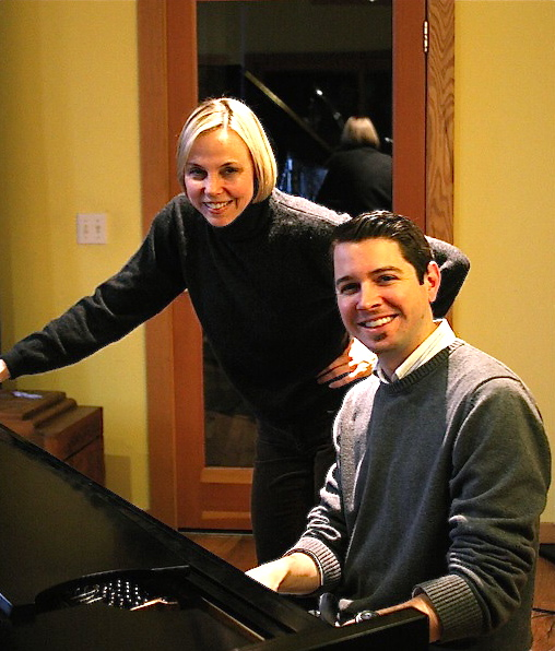 Caption: Connie Evingson & Tanner Taylor, Credit: John Whiting