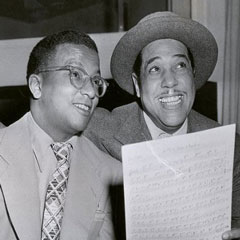 Caption: Duke Ellington and Billy Strayhorn